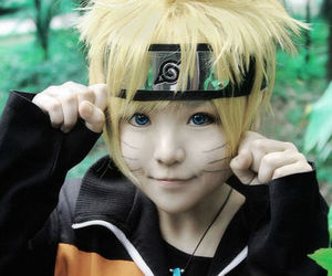 naruto, cosplay, and kawaii image