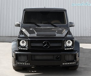 car, mercedes, and g65 image