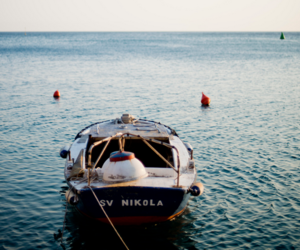 boat, photography, and sea image