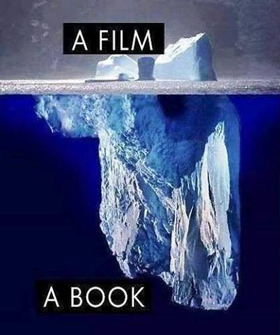 book, film, and movie image
