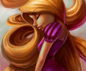 hair and rapunzel image