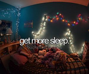 sleep and bed image