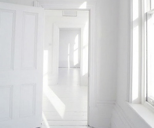white, door, and interior image