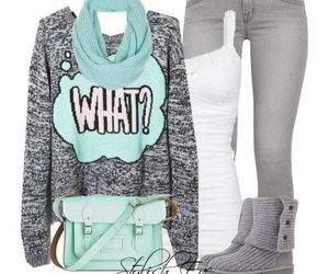 outfit, clothes, and winter image
