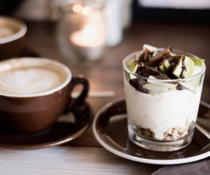 cappuccino, sweet, and chocolate image