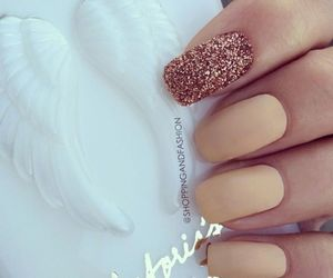 fashion, styling, and nails image