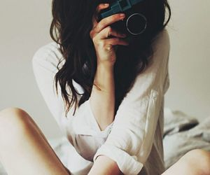 bed, canon, and girl image