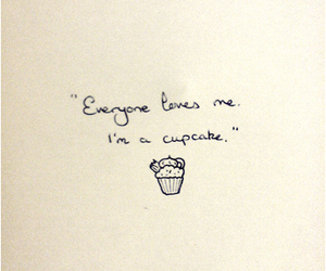 cupcake and quote image