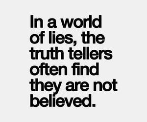 quote, lies, and world image