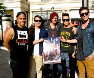 band, Hot, and midnight red image