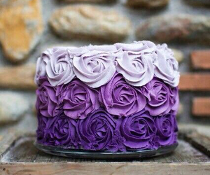 cake and rose image