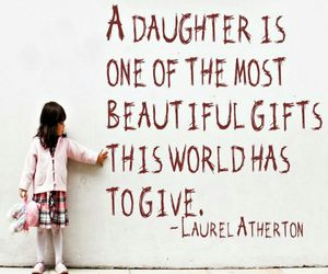 beautiful, daughter, and gift image