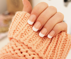 nails, sweater, and french image