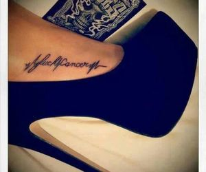 awesome, tatoeage, and cancer image