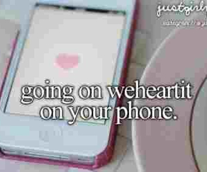 love, weheartit, and iphone image