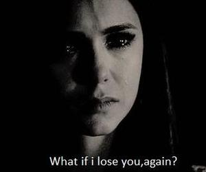 elena, sad, and the vampire diaries image