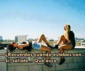amigas, frases, and Risa image