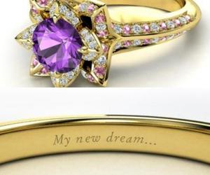 ring, disney, and princess image