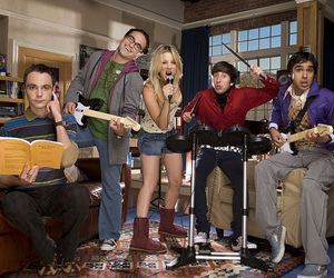 the big bang theory, penny, and sheldon image