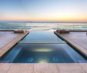 luxury, pool, and sea image