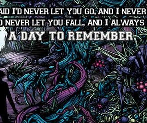band, a day to remember, and song image
