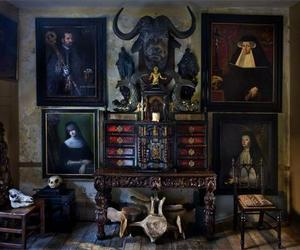 bizarre, gothic, and room image
