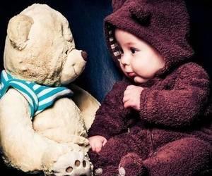 baby, infant, and bambino image
