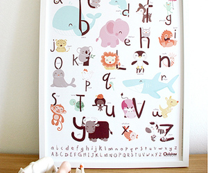 alphabet and animals image