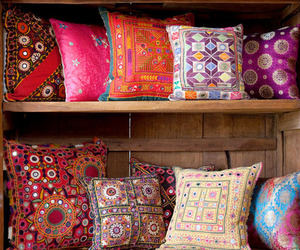 pillow and colors image