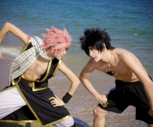 cosplay, fairy tail, and gray fullbuster image