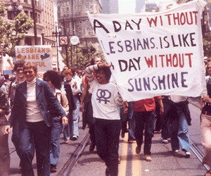 lesbian, dykes, and lesbians image