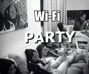 girls, party, and Right image
