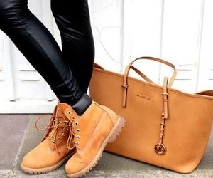 fashion, highheels, and timberland image