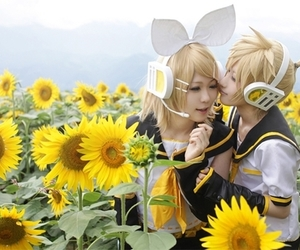 vocaloid, cosplay, and kagamine len image