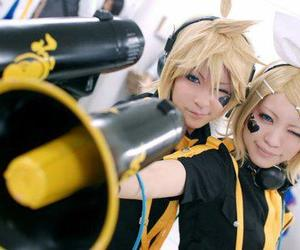 cosplay, vocaloid, and len kagamine image