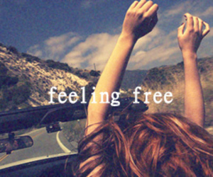 free, freedom, and car image