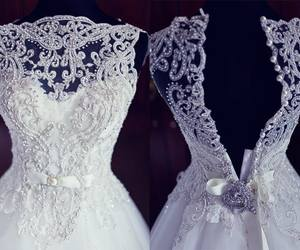 dress and marriage image