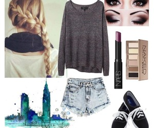 braid, keds, and outfit image