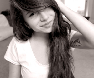 adorable, beautiful, and brown hair image