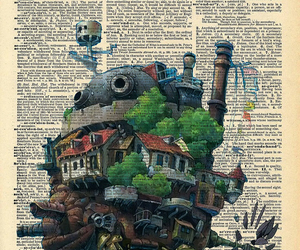 book and howl's moving castle image