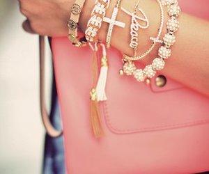 fashion, bracelet, and peace image