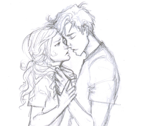 love, percy jackson, and couple image