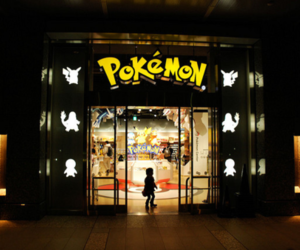 pokemon and store image