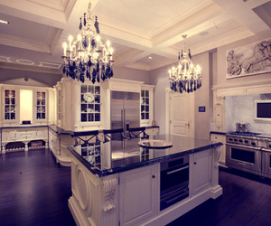 kitchen, home, and luxury image