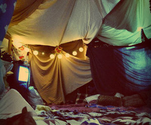 fort, lights, and room image