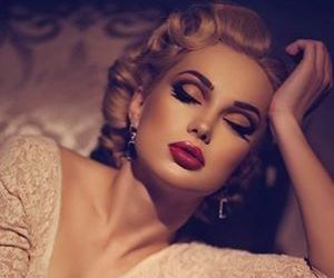 50s, lips, and vintage image