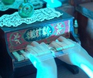 ghost, piano, and hands image