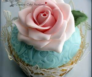 cupcake, pink, and pretty image