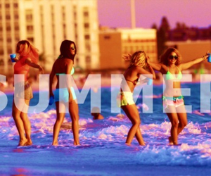 summer, spring breakers, and selena gomez image