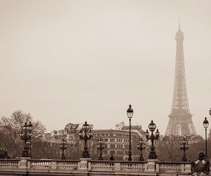 Paris France And Eiffel Tower Image